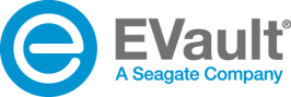 logo_corp_evault_yes seagate_blue-e_gray-EVault_w
